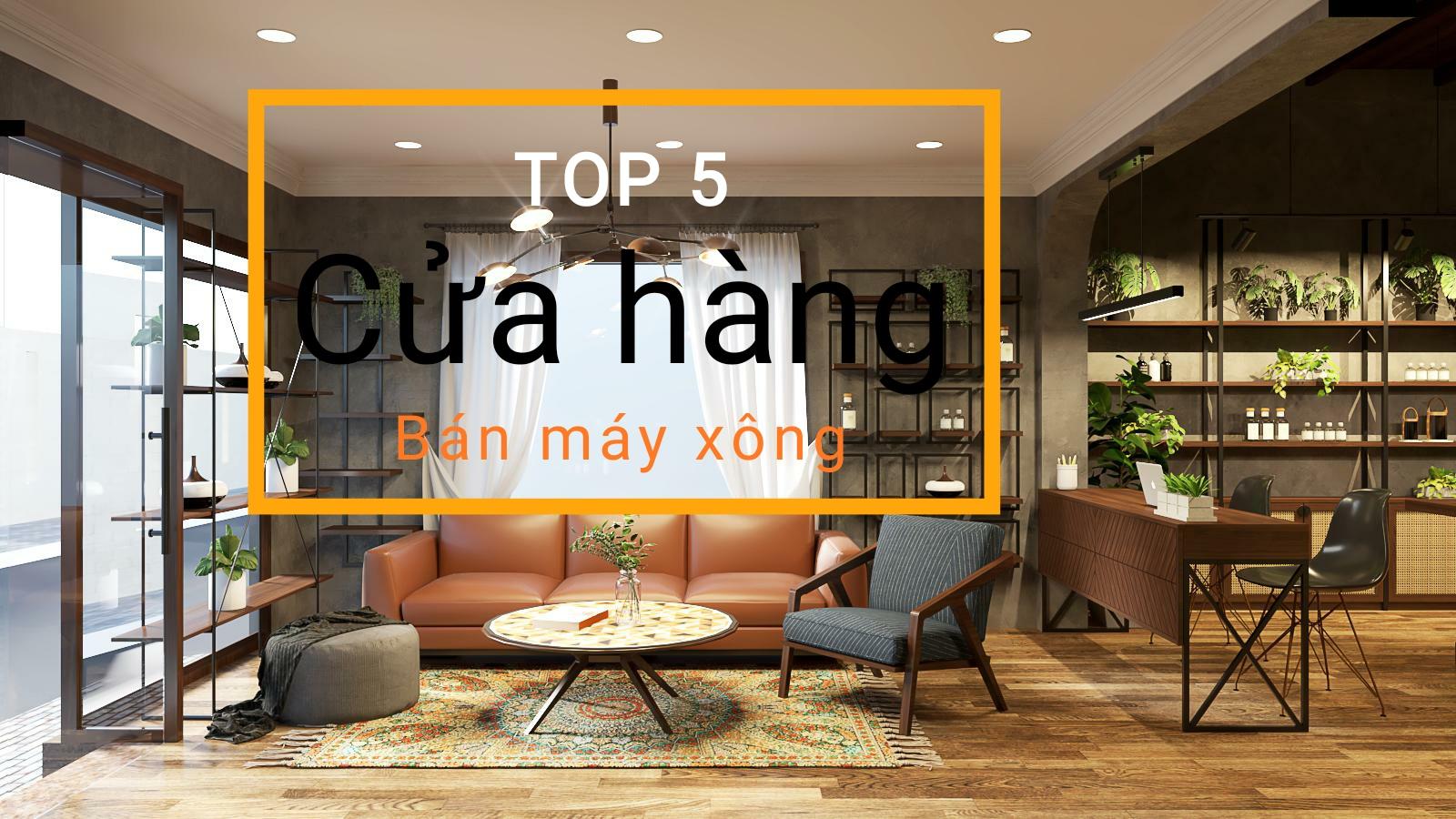 TOP 5 cửa hàng bán Máy Xông Tinh Dầu uy tín