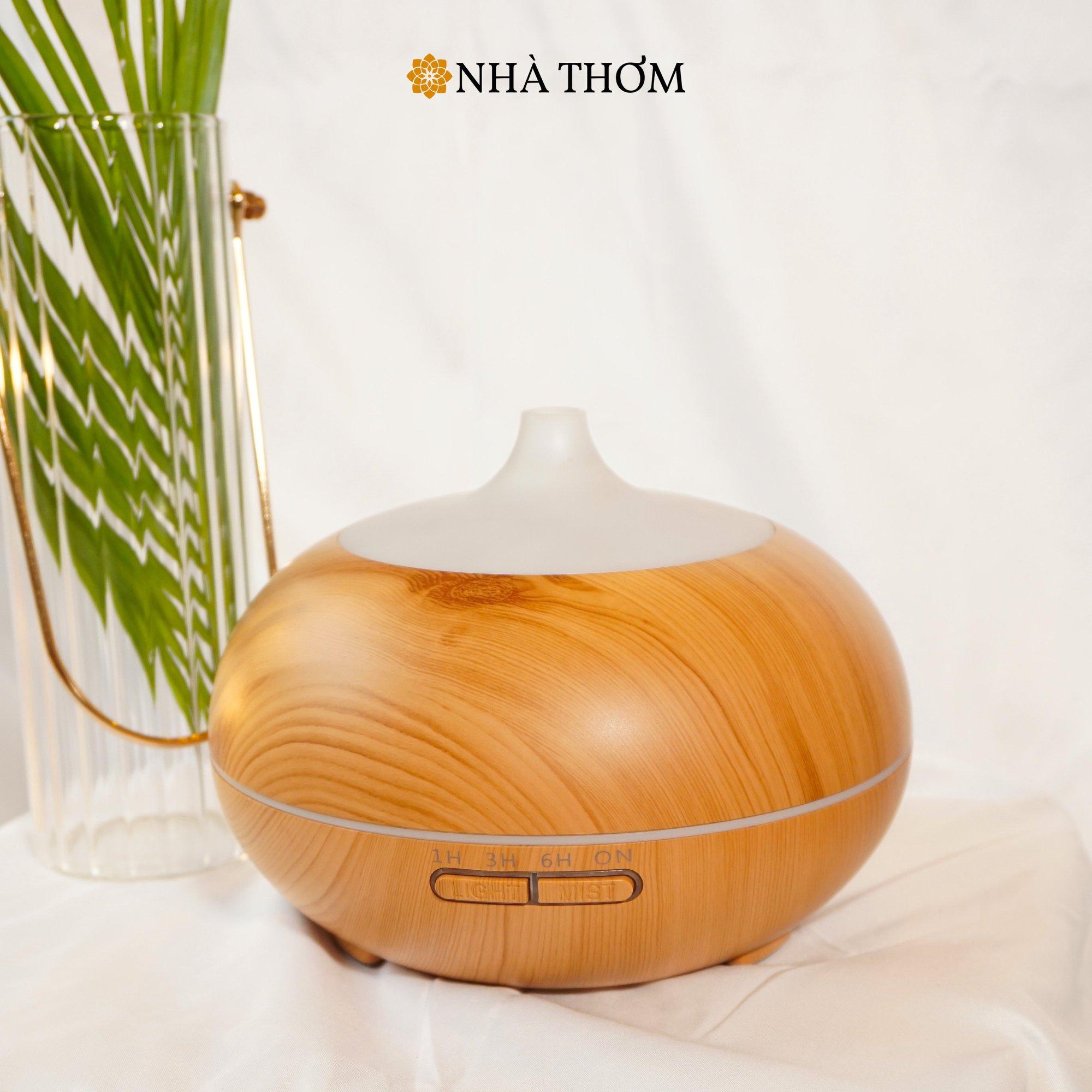 Máy khuếch tán tinh dầu đào tiên vàng